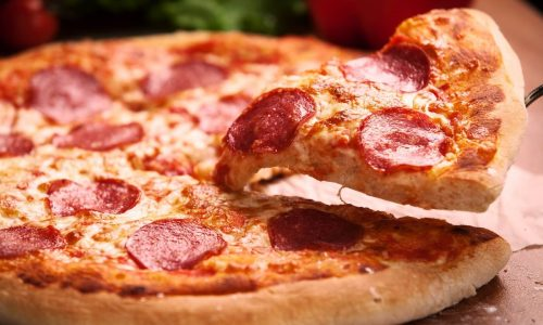 Free delivery with Pizza of the day